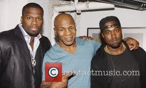 Kanye West, 50 Cent, Mike Tyson