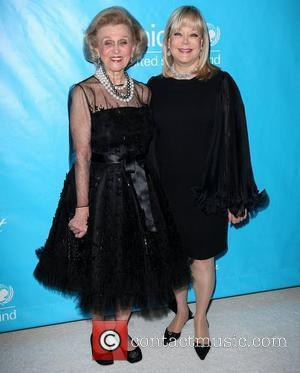 Barbara Davis and Candy Spelling