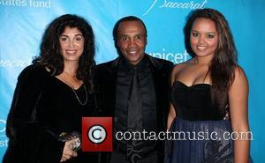 Bernadette Robi and Sugar Ray Leonard
