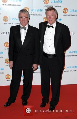 Sir Alex Ferguson and Guest United for UNICEF gala dinner, held at Manchester United Football Club, Old Trafford - Arrivals...