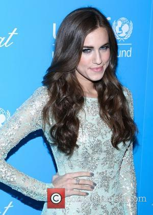 Allison Williams and Unicef Snowflake Ball