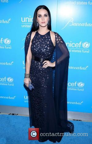 Katy Perry and Unicef Snowflake Ball