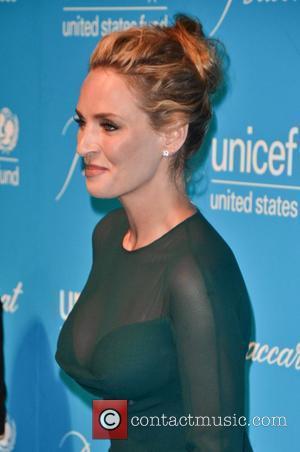 Uma Thurman 2011 UNICEF Snowflake Ball at Cipriani 42nd Street - Arrivals  New York City, USA - 29.11.11