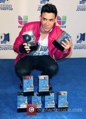 Prince Royce Univision's Premios Juventud Awards at Bank United Center - Press Room Coral Gable, Florida - 19.07.12