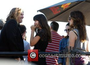 Val Kilmer, Savannah Welch and Rooney Mara on the set of 'Untitled Terrence Malick Project' at the Fun Fun Fun...