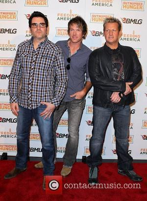 Rascal Flatts Country Music Superstars Unveil Major Consumer Product Campaign during ACM weekend at MGM Grand  Las Vegas, Nevada...