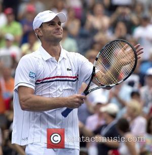 Andy Roddick (USA) US Open 2012 Men's Match - Fabio Fognini (ITA) v. Andy Roddick (USA), held at USTA Billie...