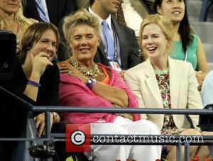 Keith Urban, Andy Roddick and Nicole Kidman