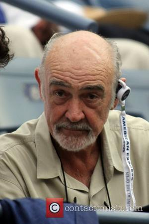 Sean Connery  US Open 2012 Men's Match - Celebrity Sighting - USTA Billie Jean King National Tennis Center...