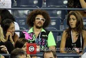 Redfoo of LMFAO  US Open 2012 Men's Match - Andy Murray vs Ivan Dodig held at USTA Billie Jean...
