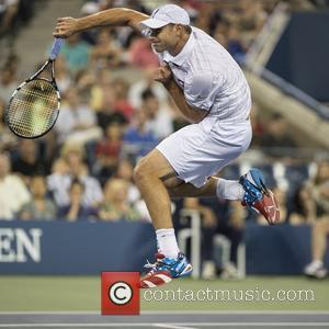 Andy Roddick US Open 2012 Men's Match - Andy Roddick vs. Bernard Tomic - USTA Billie Jean King National Tennis...