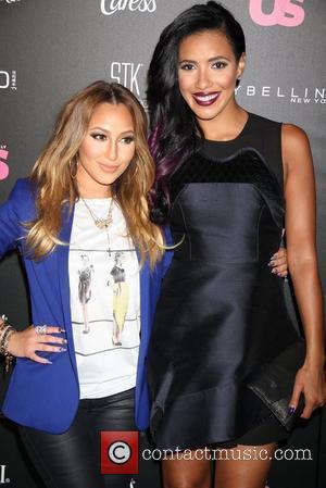 Adrienne Bailon and Julissa Bermudez