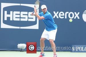 Andy Roddick Arthur Ashe Kids Day 2012, held at USTA Billie Jean King National Tennis Center in Flushing  New...
