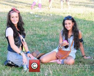 Michelle Keegan and V Festival