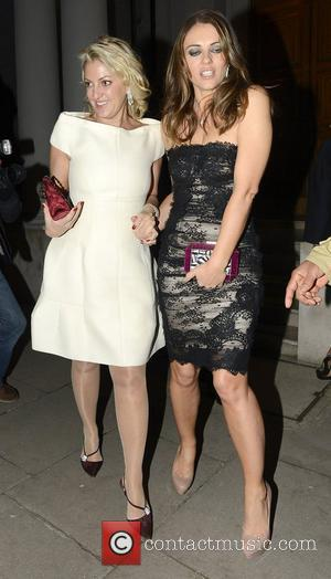 Elizabeth Hurley and Somerset House