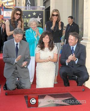 Jane Leeves, Betty White, Valerie Bertinelli, Wendie Malick and Star On The Hollywood Walk Of Fame