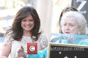 Valerie Bertinelli, Betty White and Star On The Hollywood Walk Of Fame