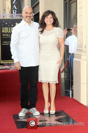Valerie Bertinelli, Tom Vitale Valerie Bertinelli is honored with the 2,476th star on the Hollywood Walk of Fame Hollywood, California...