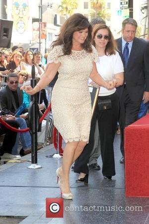 Valerie Bertinelli and Star On The Hollywood Walk Of Fame