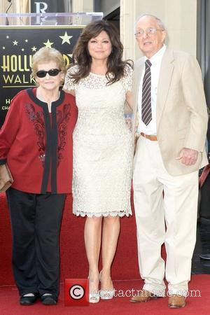Valerie Bertinelli with her Family Valerie Bertinelli is honored with the 2,476th star on the Hollywood Walk of Fame Hollywood,...