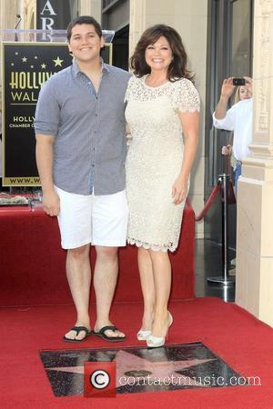 Wolfgang Van Halen, Valerie Bertinelli  Valerie Bertinelli is honored with the 2,476th star on the Hollywood Walk of Fame...