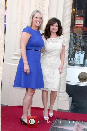Global CEO of Jenny Craig, Dana Fiser, Valerie Bertinelli  Valerie Bertinelli is honored with the 2,476th star on the...