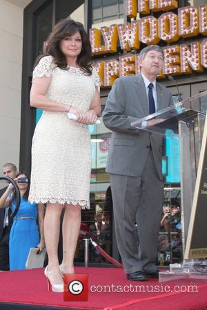 Valerie Bertinelli, Leron Gubler Valerie Bertinelli is honored with the 2,476th star on the Hollywood Walk of Fame Hollywood, California...