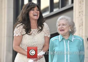 Valerie Bertinelli, Betty White,  Valerie Bertinelli is honored with the 2,476th star on the Hollywood Walk of Fame Hollywood,...