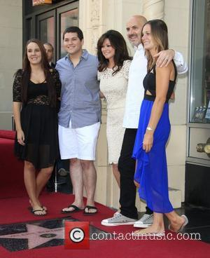 Valerie Bertinelli and her family Valerie Bertinelli is honored with the 2,476th star on the Hollywood Walk of Fame Hollywood,...