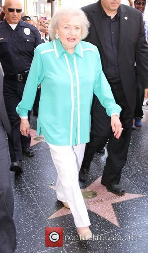 Betty White Valerie Bertinelli is honored with the 2,476th star on the Hollywood Walk of Fame Hollywood, California - 22.08.12
