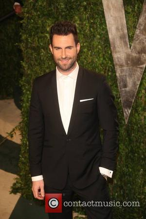 Adam Levine  2012 Vanity Fair Oscar Party at Sunset Tower Hotel - Arrivals Los Angeles, California - 26.02.12