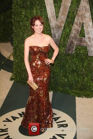Ellie Kemper  2012 Vanity Fair Oscar Party at Sunset Tower Hotel - Arrivals Los Angeles, California - 26.02.12