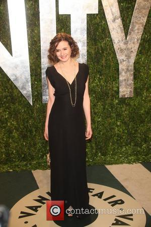 Emily Mortimer  2012 Vanity Fair Oscar Party at Sunset Tower Hotel - Arrivals Los Angeles, California - 26.02.12
