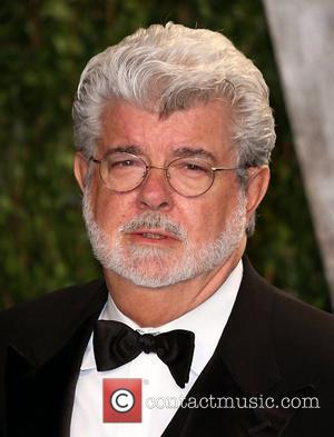 George Lucas 2012 Vanity Fair Oscar Party at Sunset Tower Hotel - Arrivals West Hollywood, California - 26.02.12