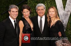 Terry Semel and guests 2012 Vanity Fair Oscar Party at Sunset Tower Hotel - Arrivals West Hollywood, California - 26.02.12