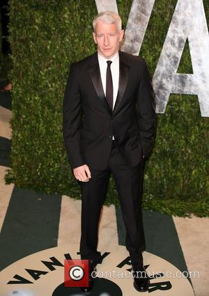 Anderson Cooper 2012 Vanity Fair Oscar Party at Sunset Tower Hotel - Arrivals West Hollywood, California - 26.02.12