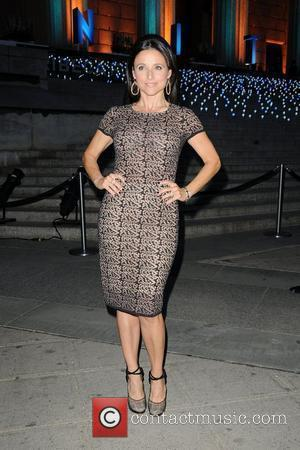Julia Louis-Dreyfus 2012 Tribeca Film Festival Vanity Fair party at the State Supreme Courthouse  New York City, USA -...