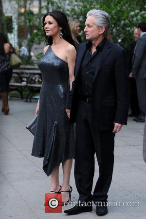 Michael Douglas, Catherine Zeta Jones and Tribeca Film Festival