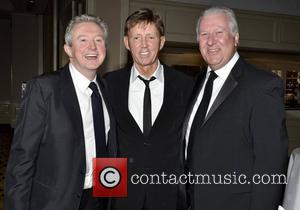 Louis Walsh, Dickie Rock, Ronan Collins Variety Children's Charity Humanitarian Awards Gala Dinner at The Burlington Hotel Dublin, Ireland -...