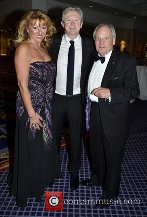 Maggie Hatch, Tony Hatch with Louis Walsh Variety Children's Charity Humanitarian Awards Gala Dinner at The Burlington Hotel Dublin, Ireland...