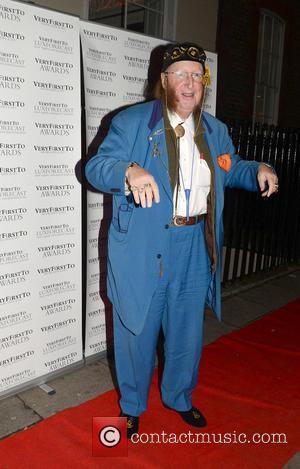 John McCririck Celebrities at The VeryFirstTo Awards held at 5 Cavendish Square  Featuring: John McCririck Where: London, England When:...