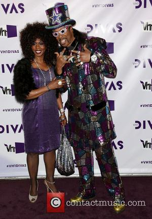Musician Bootsy Collins (R); Patti Collins VH1 Divas 2012 held at The Shrine Auditorium - Arrivals  Featuring: Musician Bootsy...