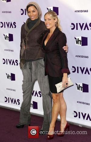 Nicole Murphy; Jessica Canseco VH1 Divas 2012 held at The Shrine Auditorium - Arrivals  Featuring: Nicole Murphy, Jessica Canseco
