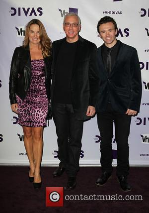 Dr Drew Pinsky (C) with his family VH1 Divas 2012 held at The Shrine Auditorium - Arrivals  Featuring: Dr...
