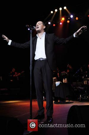 Victor Manuelle  performs at Hard Rock Live! in the Seminole Hard Rock Hotel & Casino Hollywood, Florida - 22.05.12