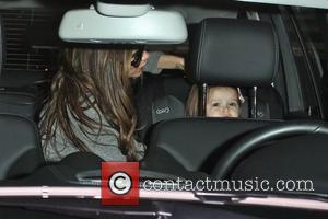 Victoria Beckham and Harper Seven Beckham