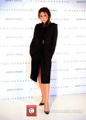 Victoria Beckham's Daughter Takes Steps In Public
