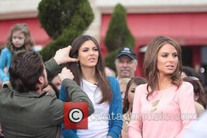 Disney, Maria Menounos and Victoria Justice