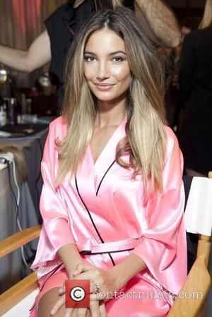 Lily Aldridge 2012 Victoria's Secret Fashion Show held at the Lexington Armory - Backstage New York City, USA - 07.11.12