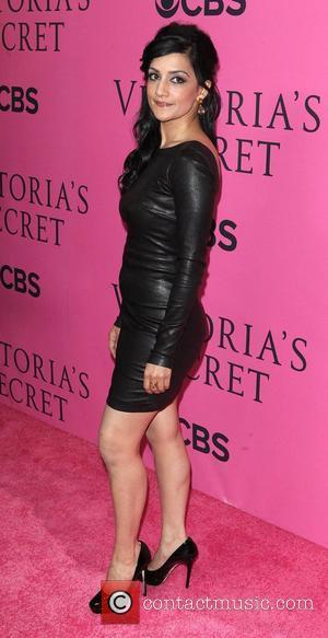 Archie Panjabi and Victoria's Secret Fashion Show